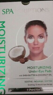 Spascriptions Moisturizing Under-Eye Pads with Shea Butter & Coconut 5 Pairs