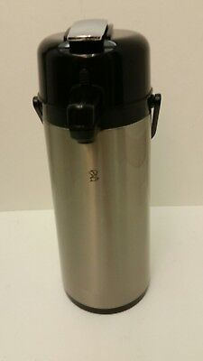 Newco Airpot 2.5 Liter Stainless Steel Level Handle