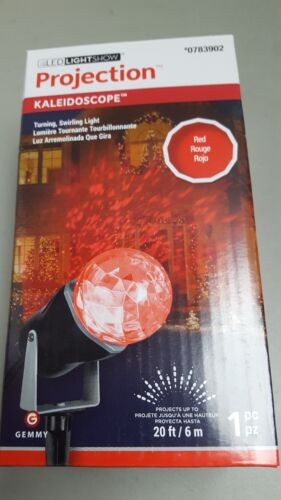 New Gemmy 35863 AppLights Kaleidoscope Projection Red Spotli