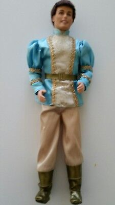 Ken Doll Dressed as Rapunzel Prince Brown Curly Hair Barbie Mattel