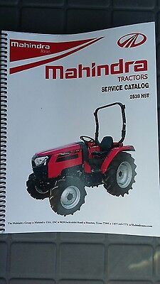 Mahindra 2538 Tractor Shop Manual
