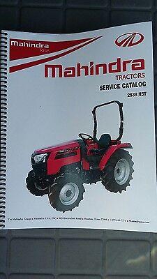 Mahindra 2538 Tractor Shop Manual