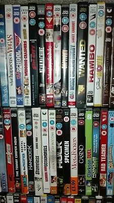 12 DVD bundle - Job Lot various Good Titles * All Good to Very Good * Check each