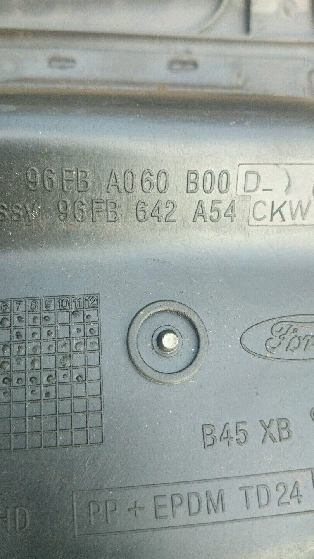 Ford Fiesta Mk4 13 Interior Fuse Box Cover Storage Compartment 96fb 3 Of See More
