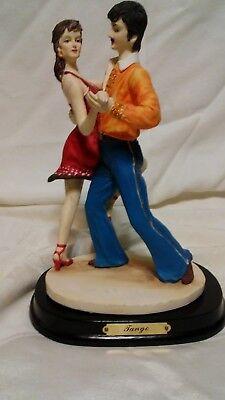 Vintage A E Price 1989  Tango  Dancing Figurine