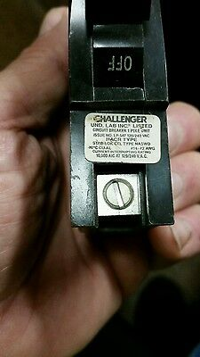 Federal Pacific 1 Pole 20 Amp Plug In Breaker Type Na