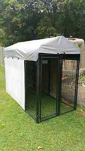Large steel Chicken coop /bird avery with double doors and roof. Buderim Maroochydore Area Preview