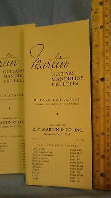 1941 MARTIN GUITARS MANDOLINS UKELELES RETAIL CATALOGUE REPRINT#5