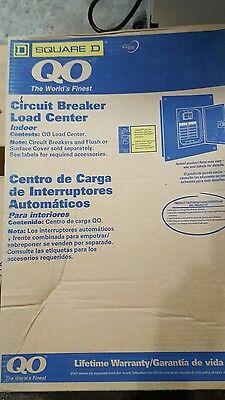 Square D Q0116l125g Breaker Box Load Center 16 Space 125a