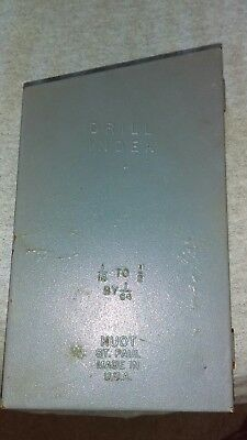 Vintagehuot Drill Index 116 To 12 By 164. Mostly Lsi Bits Usa. 22 Pieces.