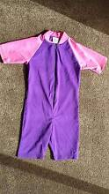 One piece onesie bathers swimmers swimming girls costume pink pur Brentwood Melville Area Preview