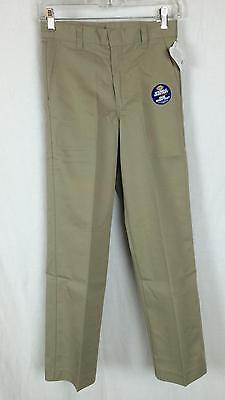 Dickies Boys Pants Flat Front Classic Fit Size 8 - 20 School Uniform 56562