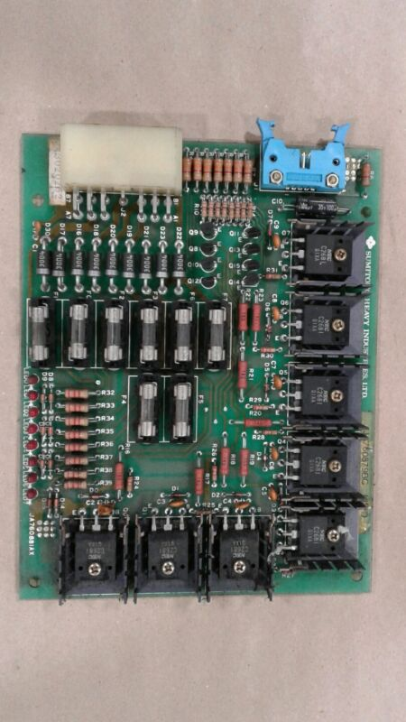 SUMITOMO HEAVY INDUSTRIES PC CONTROL BOARD JA760879BC MS-D #1145KWZ4