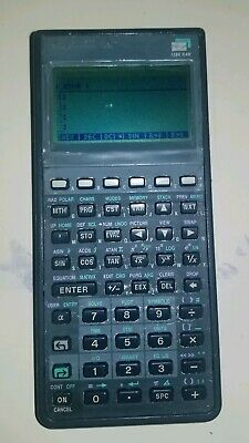 Hp 48gx Calculator 128k Ram W Tds Cogo Card