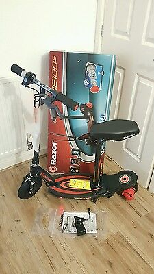 Razor Powercore E100S Scooter - Red. UK Seller
