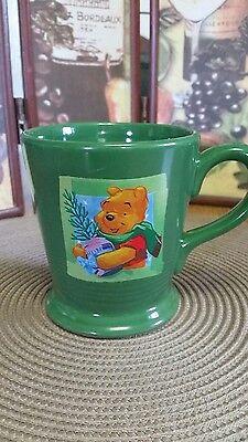 NEW Winnie the Pooh  Coffee Mug Cup  1999  A Christmas To Remember Disney