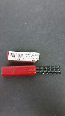 7 Pcs 31 Cleveland Twist Drill Bits Black Item. 485