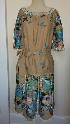 Captive Fashions Designed in Arizona Hippie Gypsy Boho Vintage  1970s