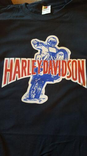 Vintage 1970's Harley Davidson  Motorcycle Bike T Shirt