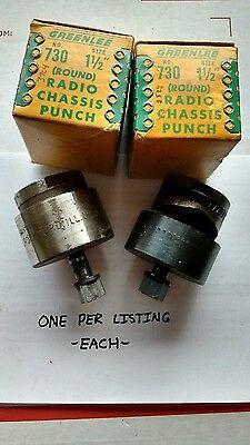 1 Greenlee 1 12 Diameter 38.1mm Radio Chassis Punch 730 37043528