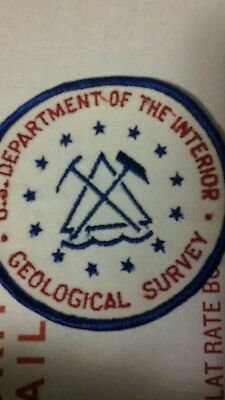 US GEOLOGICAL SURVEY PATCH OFFICIAL NEW