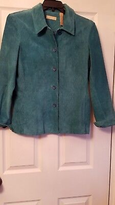 Kate Hill Casual for Woman Best REAL Leather Jacket  with Lining SIZE 12