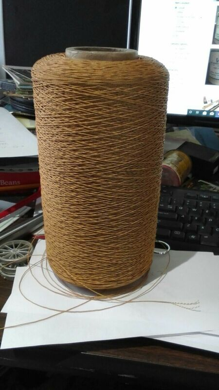 rug weaving cord two strand over 3 pounds of string thread super strong