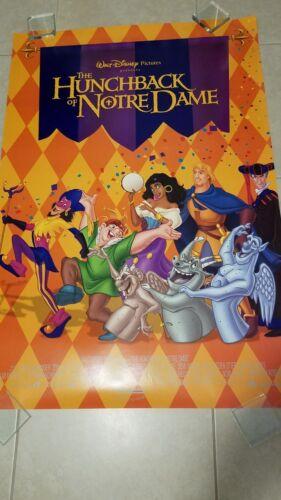 Disney's The Hunchback Of Notre Dame movie poster  - origina