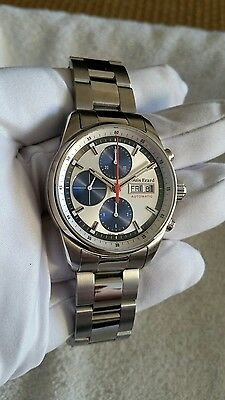 Louis Erard Heritage Chronograph Swiss Made Automatic Men's Watch  78 104 AA 11