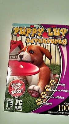 PUPPY LUV ADVENTURES (2007) (COVER MAY VARY) PC CD-ROM NEW & FACTORY - Puppy Luv