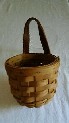Longenberger Small Foyer basket with plastic protector