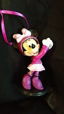 Disney Roadster Minnie Mouse Christmas Ornament
