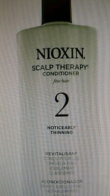 Nioxin Bionutrient Actives Scalp Therapy System 2 For Fine Hair 33.8 Ships Today Bionutrient Actives Scalp Therapy
