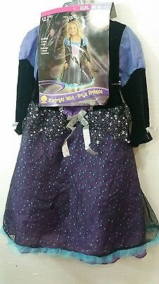 Rubies Starbright Witch Girl's Child Halloween Costume Sz.M 8-10 - NEW