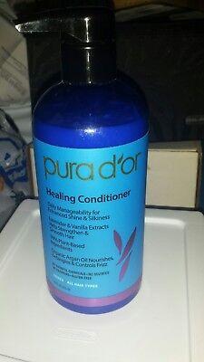 Pura D'or Healing Conditioner w/ Lavender 16 Fl Oz