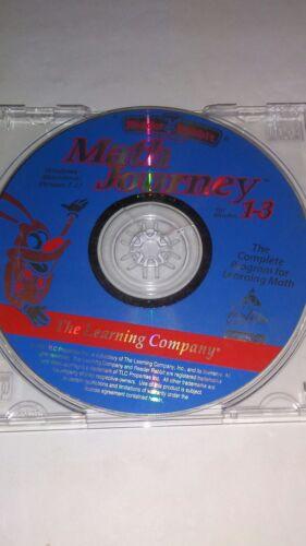 Computer Games - Reader Rabbit Math Journey for Grades 1-3 - PC CD Computer game Win/Mac 1.12