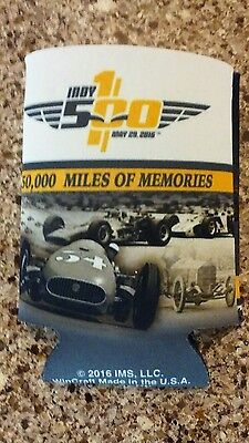 Indy 500 - May 2016 - 100th Running of the Indy 500 Can Cooler Coozie