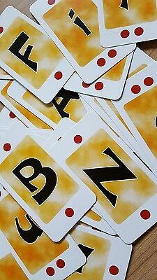ABC - Kartenspiel**WORT-SCHATZ**spielend lernen*Ausdruck* Lesen+Schreiben*NEU