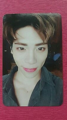 SHINEE JONGHYUN Official PHOTOCARD #1 1 and 1 5th Repackage Album Jong Hyun 종현