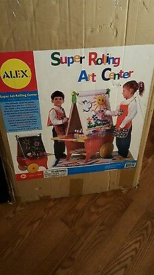 ALEX Toys Artist Studio Super Rolling Art Center  Brand New!