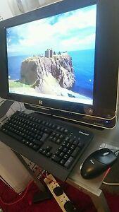 HP TouchSmart IQ771 All-in-One Touch Screen Desktop  PC Windows 7, 64 bit