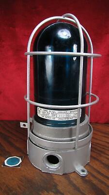 Killark Glass Vapor Proof Light Lamp Fixture Bvcg-100