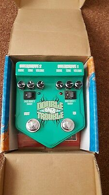 visual sound double trouble * dual tube screamer OD pedal