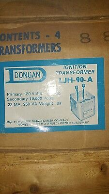Dongan Multi-former Ignition Transformer Model Ljh-90a Box Of 4