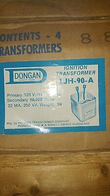 Dongan Multi-former Ignition Transformer Model Ljh-90a Box Of 4