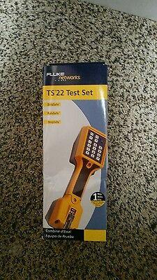 New Fluke Networks Ts22 Test Set 22800007