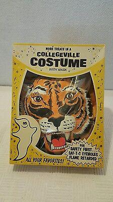 vintage Halloween Collegeville ~ #181 TIGER ~ Costume Original Box ~ Very Nice!!