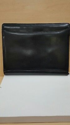 Portfolio 1210 Black Color With Lots Of Slots With Zipper Pocket In It