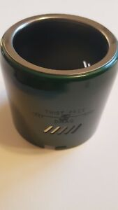 Vintage True Temper Bronson Uni Spin 66 green reel nose cover  new old stock