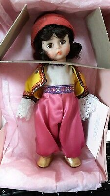 "Madame Alexander 8"" Anatolia Doll- #524 with box, DOLL restrung"